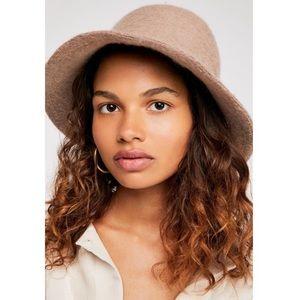 Free People Wool Devon Bucket Hat NEW